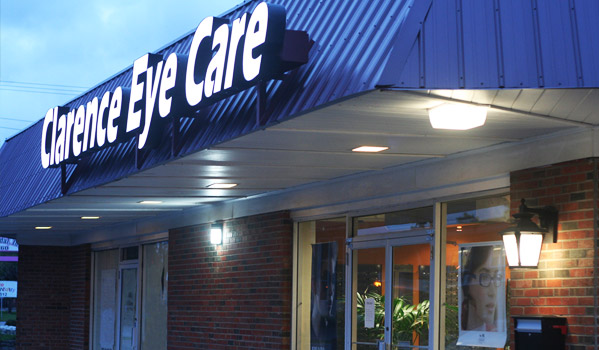 Clarence Eye Care Location