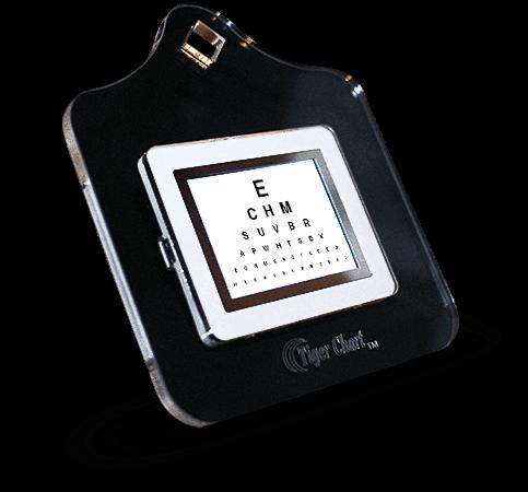 Digital Near Chart For Optometrists Ophthalmologists Eye Care